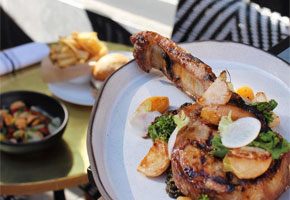 Grilled Duroc Pork Chop at Best Girl | Instagram by @acedtla